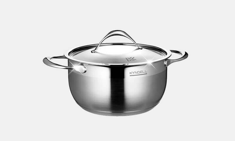 Cuckoo Malaysia Kyndell Cookware Stainless Steel Single Pot-3