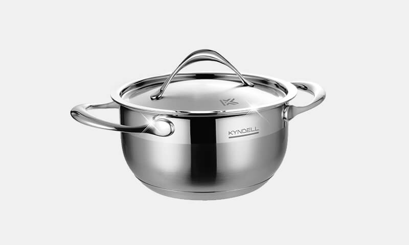 Cuckoo Malaysia Kyndell Cookware Stainless Steel Single Pot-4